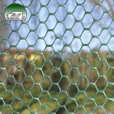 Plastična vrtna mreža Heksagon 15x15