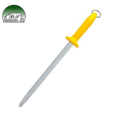 Ovalni čelični oštrač noževa
