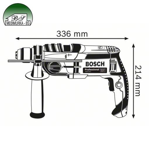 Udarna bušilica GSB 20-2 Professional BOSCH