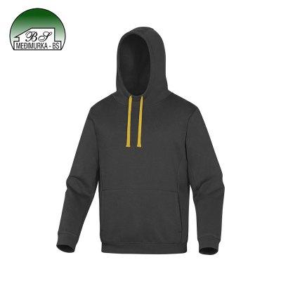DeltaPlus Lecco sportska radna vesta sivo-žuta