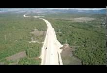 Photo of (VIDEO) Pogledajte kako izgleda hercegovačka autocesta iz zraka, obavljeno probno postavljanje asfalta
