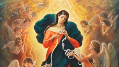 Photo of ZAPOČNITE MOLITI OVU MOĆNU POBOŽNOST Devetnica Gospi koja razvezuje čvorove
