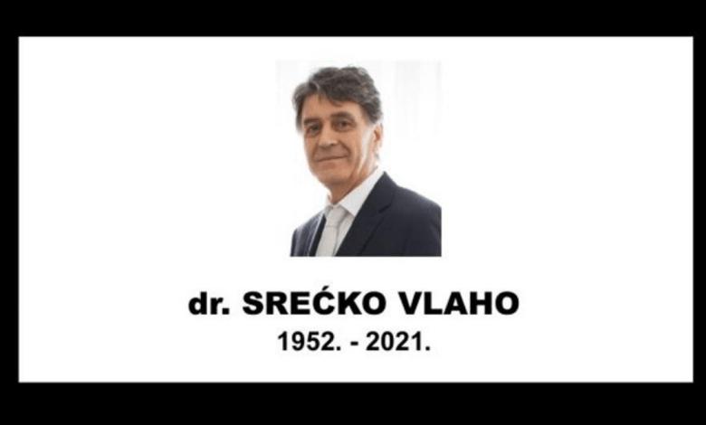 Photo of Preminuo dr. Srećko Vlaho