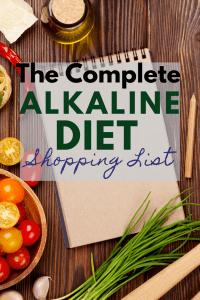 alkaline diet shopping list