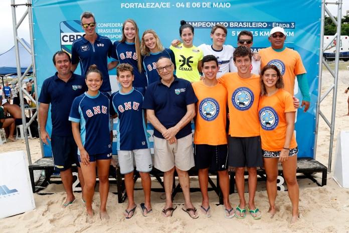 Os convocados para o Mundial Júnior (Foto: Satiro Sodré/SSPress/CBDA)