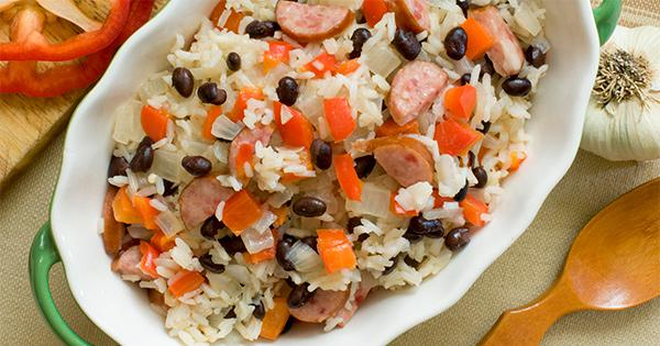 MedlinePlus: Brazilian Black Beans and Sausage