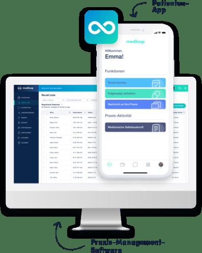 Praxissoftware & Patienten-App