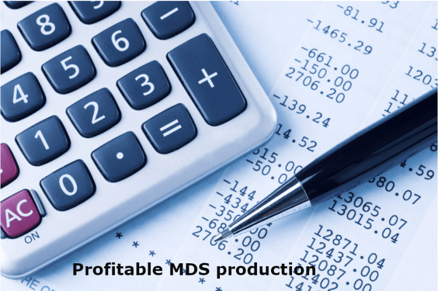 Evolve MDS production from loss to profit