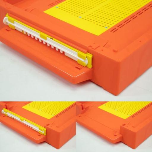 Podnica PVC CRVENA sa sakupljačem peludi,češljem i poletaljkom za LR i DB10 / PVC bee flooring with pollen collection