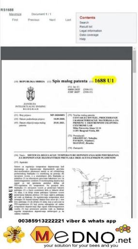 Feromon matice AVROMAM-mamac za rojeve patentiran i sa garancijom – AVROMAM