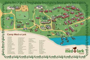detailed map of camp Medolark