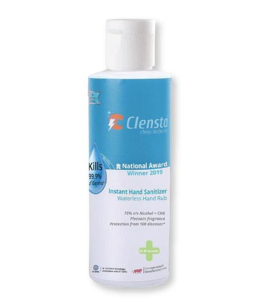 Clensta Germ Protection Instant Hand Sanitizer, Flip Top Bottle
