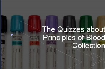 The Quizzes about Principles of Blood Collection
