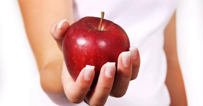 Хорошее яблоко