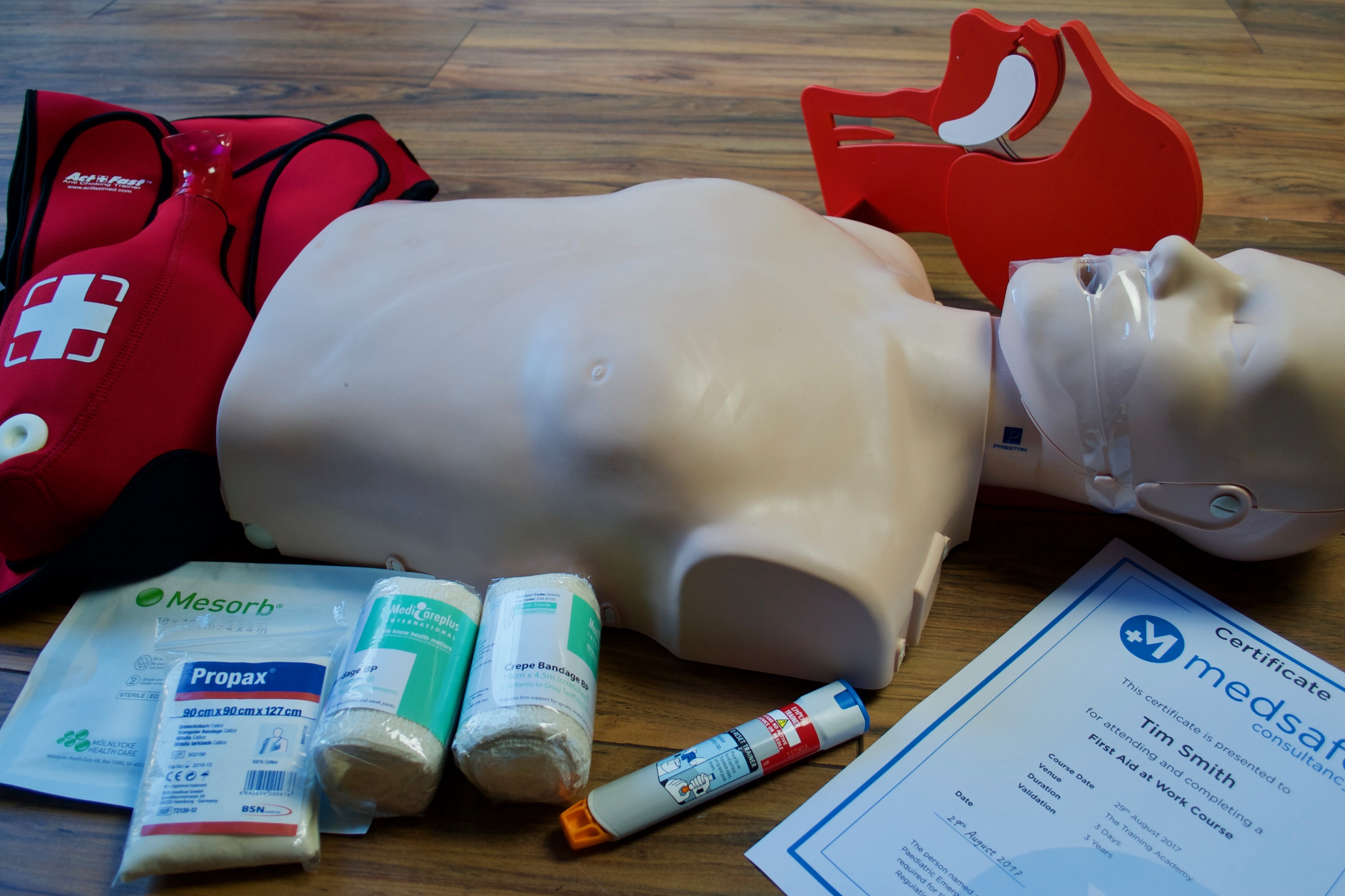 First aid courses in Northern Ireland
