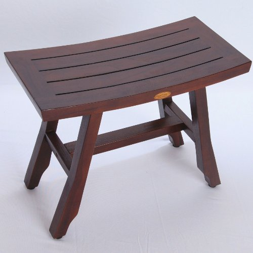 24-Satori-Teak-Shower-Bench-Asia-Style-extended-length-Shower-Shaving-Display-Foot-Leveling-Pads-0