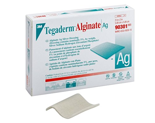 3M-Calcium-Alginate-Dressing-with-Silver-Tegaderm-Alginate-Ag-2-X-2-Inch-Square-Sterile-90301-Box-of-10-0