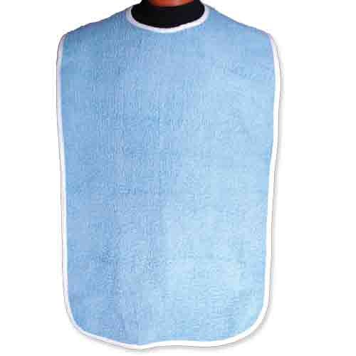 BIB-ADULT-18-X-36-BLUE-WSNAP-DZ-0