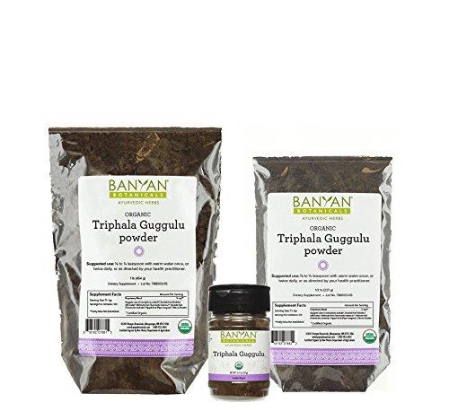 Banyan-Botanicals-Triphala-Guggulu-Powder-Certified-Organic-Detoxification-and-support-for-metabolic-function-0
