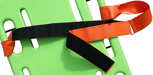 Coated-Torso-Spineboard-Strap-Set-of-3-Orange-0