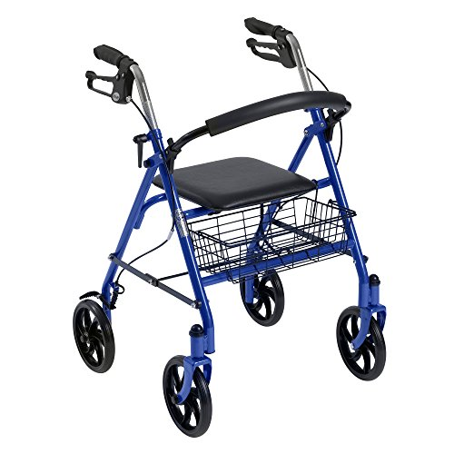 Drive-Medical-Four-Wheel-Rollator-with-Fold-Up-Removable-Back-Support-0-0
