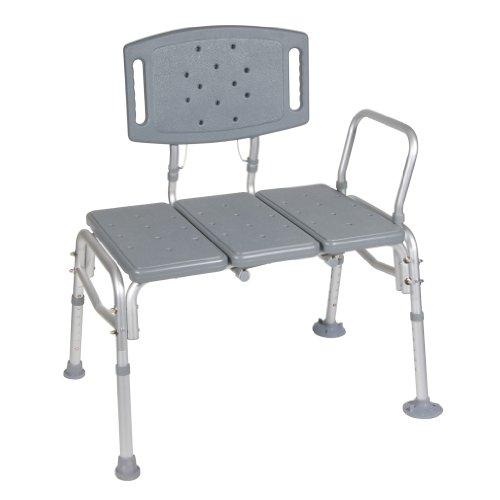 Drive-Medical-Heavy-Duty-Bariatric-Plastic-Seat-Transfer-Bench-Gray-0