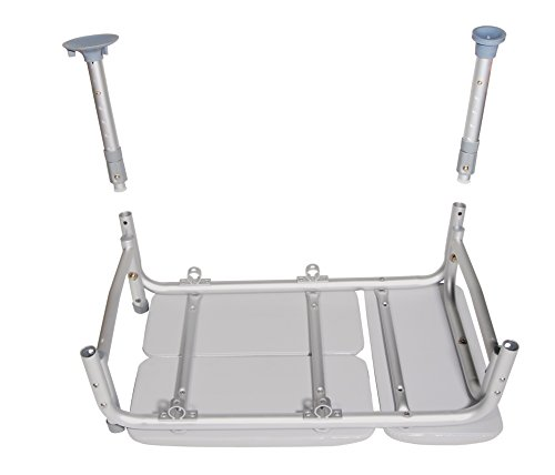 Drive-Medical-Padded-Seat-Transfer-Bench-Gray-0-1
