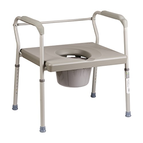 Duro-Med-DMI-Heavy-Duty-Steel-Commode-with-Platform-Seat-0-0
