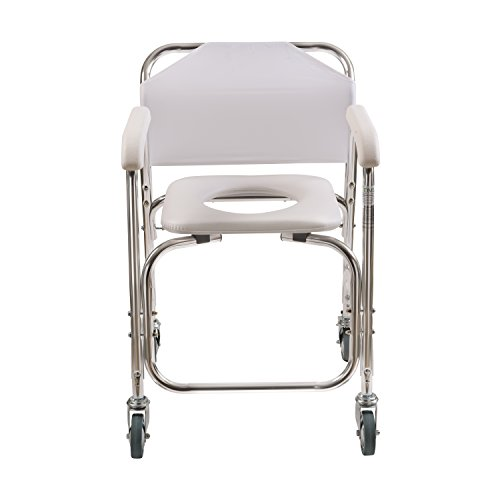 Duro-Med-Shower-Transport-Chair-White-0-0