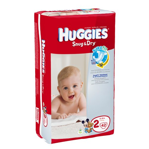 Huggies-Baby-Diapers-Snug-Dry-Size-2-12-18-lbs-Case-of-442s-168-ct-0