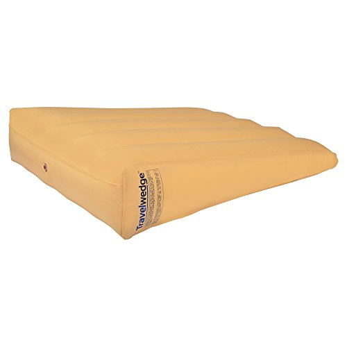 Inflatable-Bed-Wedge-Acid-Reflux-Wedge-Small-Size-wSoft-Peach-Skin-Custom-Fitted-Cover-32L30W8H-Weighs-22-Pounds-0-0