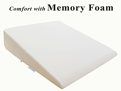 InteVision-Extra-Large-Foam-Wedge-Bed-Pillow-33-x-305-x-75-with-High-Quality-Removable-Cover-0