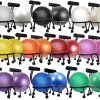 Isokinetics-Inc-Brand-Fitness-Ball-Chair-Metal-Frame-2-Frame-Finishes-Exclusive-60mm-25-Wheels-Multiple-Ball-Color-Choices-Adjustable-Base-and-Back-Height-0