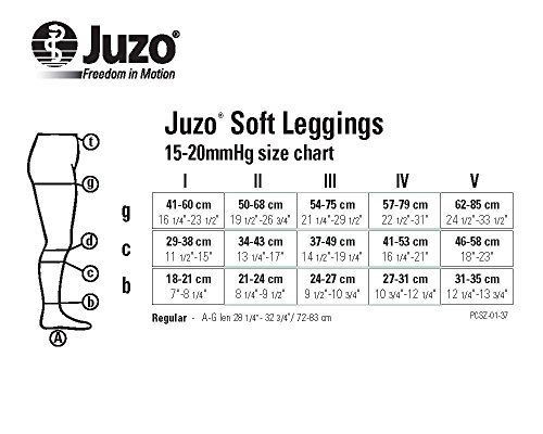 Juzo-Soft-Footless-15-20mmhg-Compression-Pantyhose-Leggings-I-Beige-0