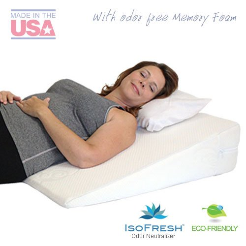 MedSlant-Acid-Reflux-Wedge-Pillow-with-Memory-Foam-32-X-30-X-7-Inch-0
