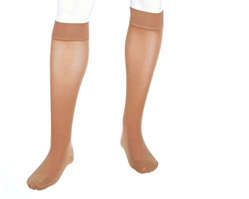 Mediven-Plus-Knee-High-30-40mmHg-Closed-Toe-wSilicone-Petite-5-V-Extra-Wide-0