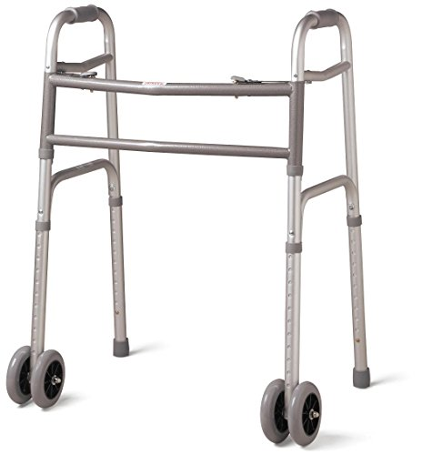 Medline-Bariatric-Folding-Walker-with-Wheels-5-Inch-0