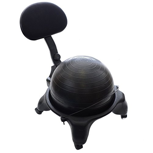 Milliard-Office-Ball-Chair-Adjustable-Fitness-Exercise-Seat-for-Office-Yoga-Stability-Balance-and-Strength-Training-0