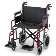 NOVA-332-Lightweight-Transport-Chair-with-Detachable-Arms-Hand-Brakes-and-12-Rear-Wheels-22-0-0