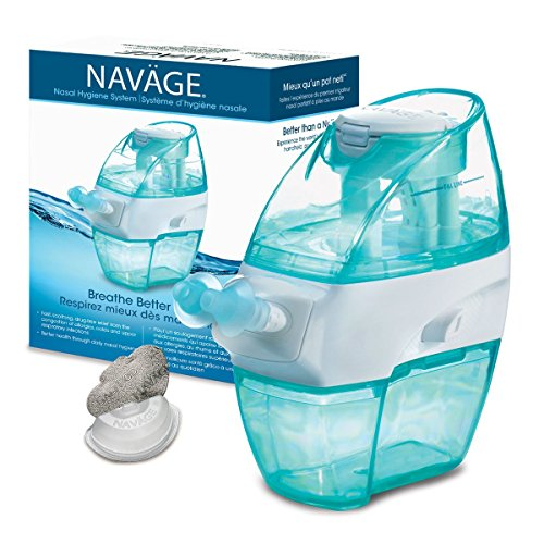 Navage Nose Cleaner And 30 Saltpod Capsules Medical Supply