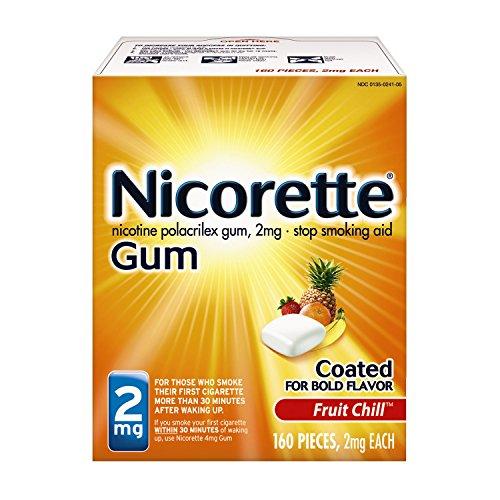 Nicorette-Nicotine-Gum-Fruit-Chill-2-milligram-Stop-Smoking-Aid-160-count-0