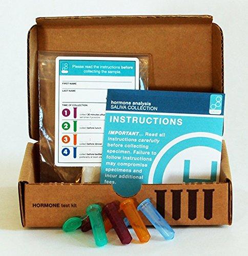 Saliva-Hormone-Test-Analysis-Adrenal-Stress-Panel-5-Tests-DHEA-4-Diurnal-Cortisols-0