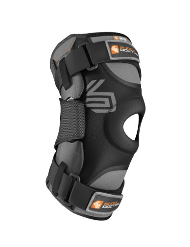 Shock-Doctor-Ultra-Knee-Supporter-with-Bilateral-Hinges-Black-Single-0