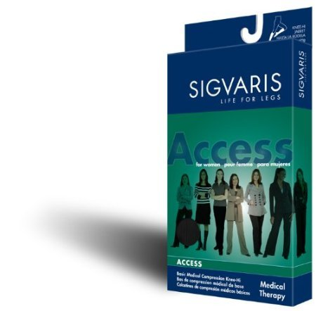 Sigvaris-Access-Pantyhose-20-30mmHg-Womens-Closed-Toe-Long-Length-Small-Short-Crispa-0
