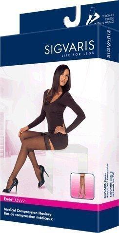 Sigvaris-EverSheer-Thigh-High-15-20mmHg-Womens-Closed-Toe-Short-Length-Small-Short-Black-0