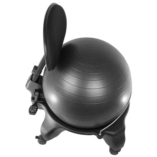 Sivan-Health-and-Fitness-Balance-Ball-Adjustable-Fit-Chair-with-Pump-Black-Large-0-0