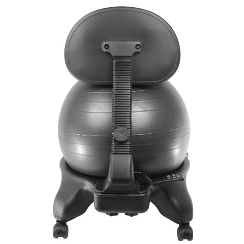 Sivan-Health-and-Fitness-Balance-Ball-Adjustable-Fit-Chair-with-Pump-Black-Large-0-1