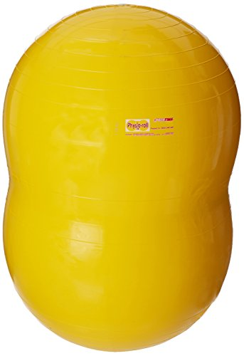 Sportime-Physio-Roll-Exercise-Therapy-Fitness-Ball-21-34-inch-Yellow-0