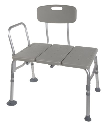 Transfer-Bench-Adjustable-Height-Legs-Lightweight-with-Back-Non-slip-Seat-Grey-By-Healthline-Trading-0