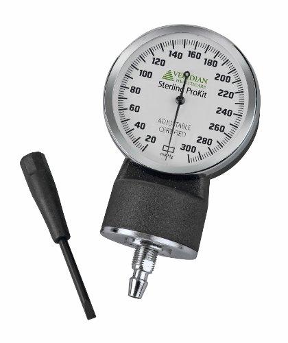 Veridian-02-12611-Adjustable-Aneroid-Sphygmomanometer-with-Sprague-Stethoscope-Kit-Adult-Purple-0-0